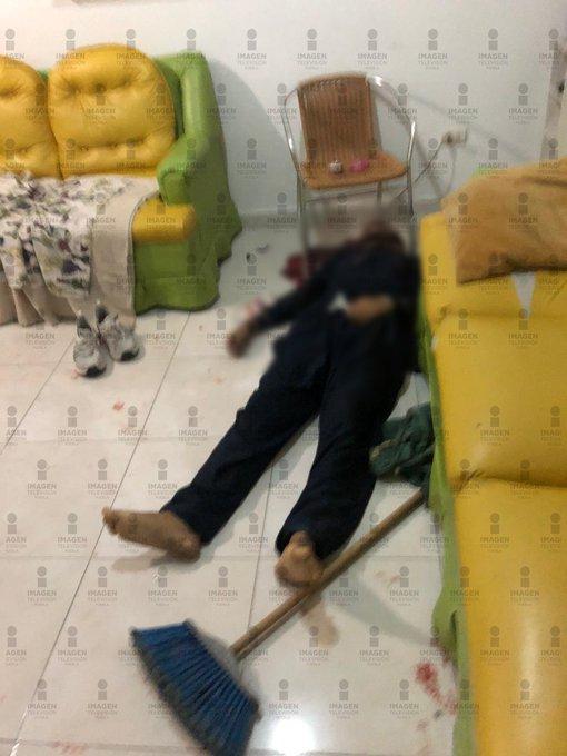 Un hombre muerto en Cholula