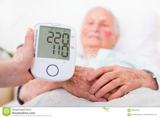 Immediate treatment for high blood pressure at home