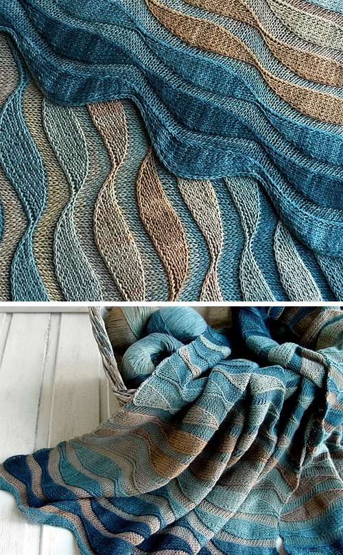 Stole Dunes - Knitting Pattern