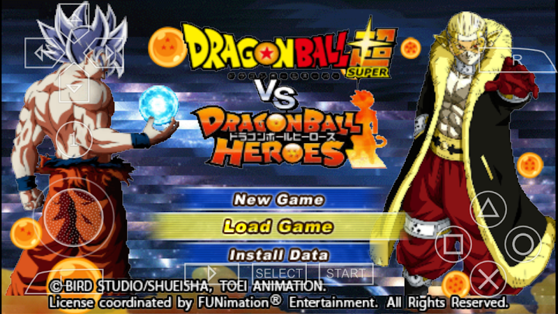 Dragon Ball Super Vs Heroes DBZ TTT MOD ISO With Permanent Menu Download