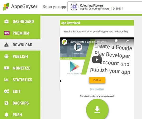 AppsGeyser Android App Maker- تنزيل