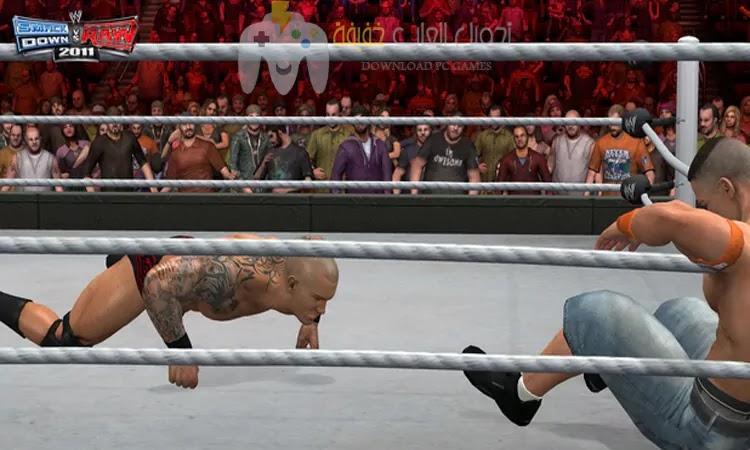 تحميل لعبة WWE Impact 2011 برابط مباشر وحجم صغير