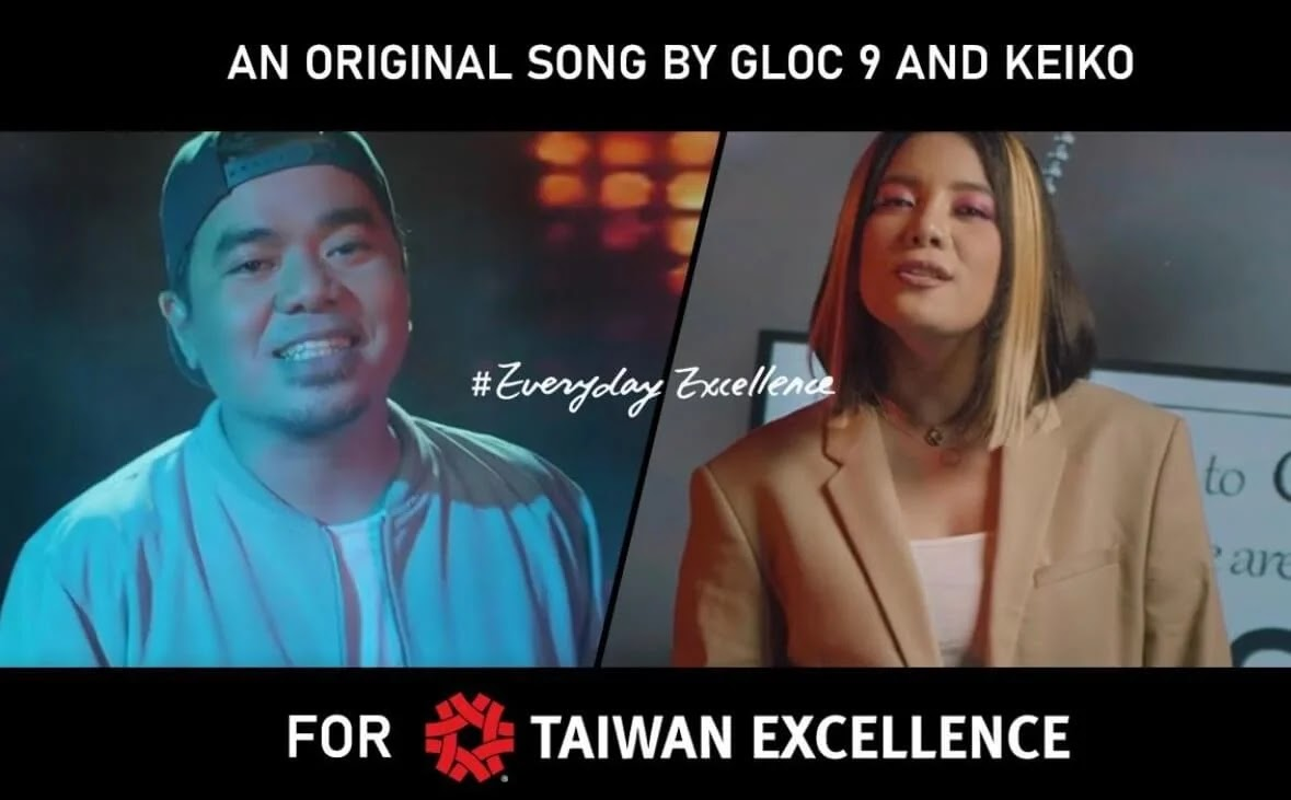 Taiwan Excellence taps Gloc-9, Keiko Necesario for inspiring music video