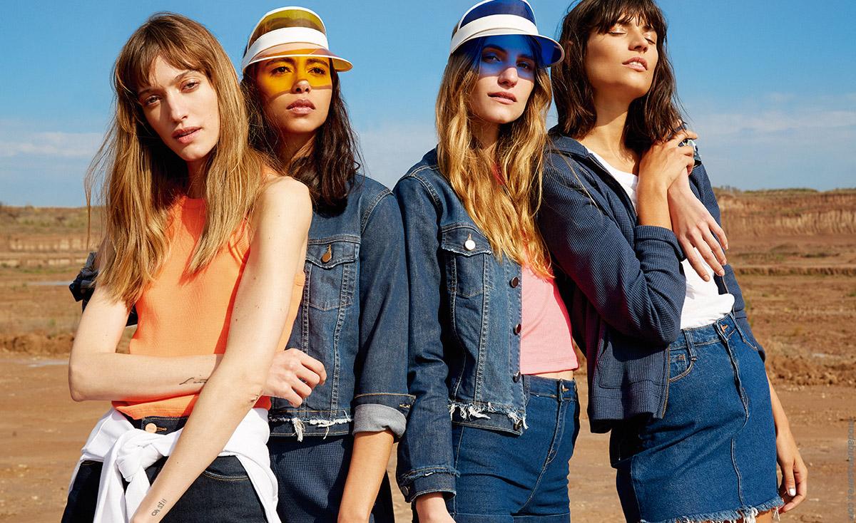 Moda primavera verano 2020: pantalones de jeans, shorts, minis y camperas primavera verano 2020.