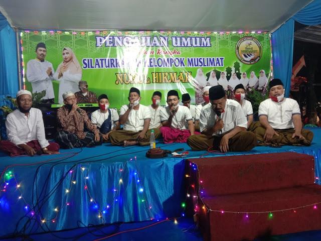 Pengajian Umum dalam Rangka Silaturrahim Kelompok Muslimat Nurul Hikmah Desa Glagahwero Panti