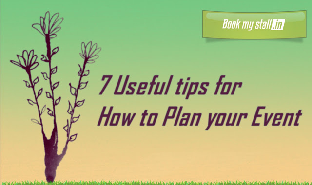 7 Useful tips to plan your Event