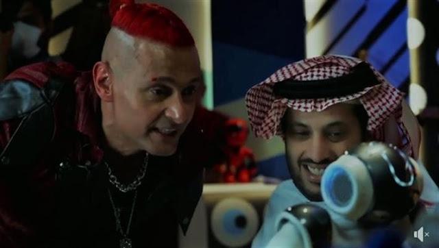 شاهد رد فعل تركي آل الشيخ في برنامج رامز عقله طار رمضان 2021