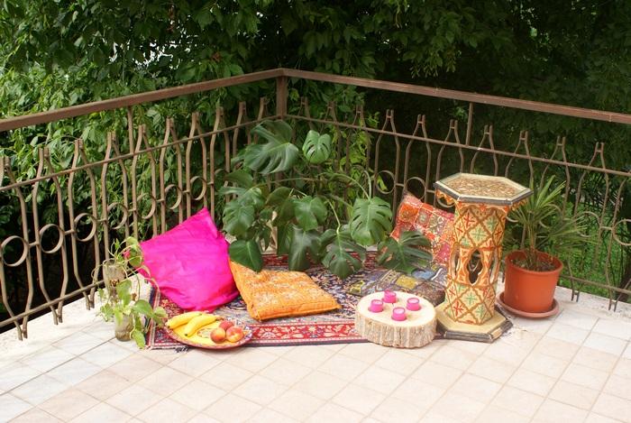 howto bohemian patio terrazzo interiors