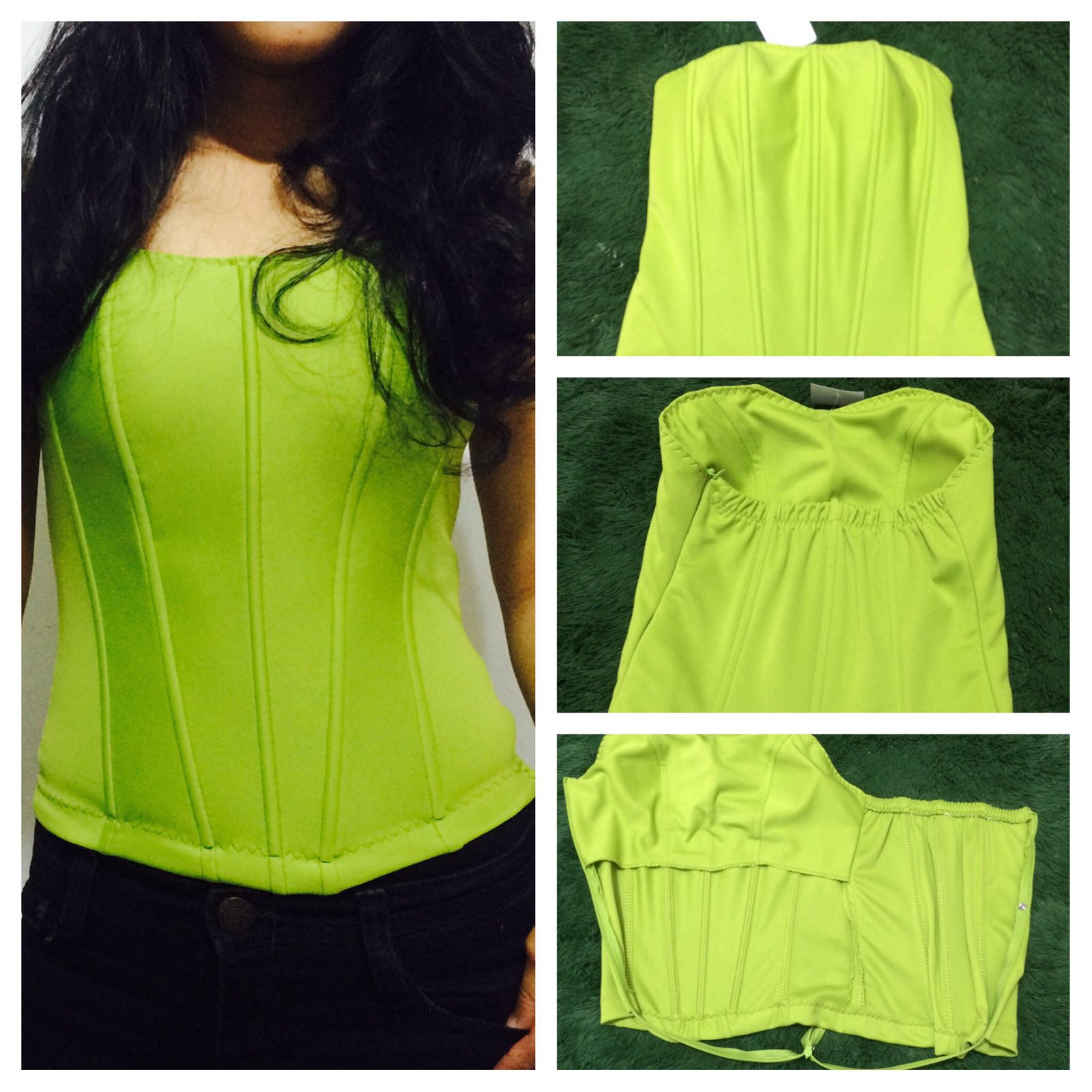 Bustier  bustier basic tulang 8 cup polyester murah 7c56a546fa