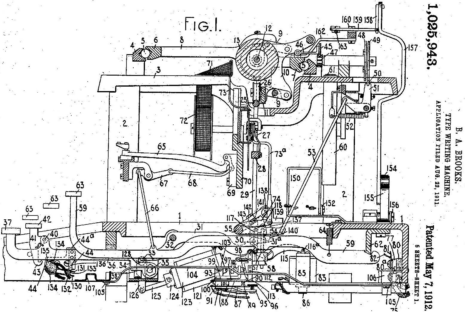 Oz Typewriter The Brooks Electric Typewriter Plus Latta