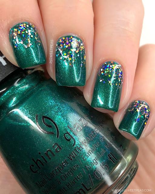 Christmas Glitter Gradation