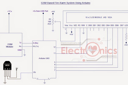 Home Security System Circuit Diagram Download