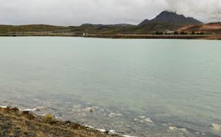 Bjarnarflag, la primera planta geotermal de Islandia. Alrededores del lago Mývatn. Iceland.