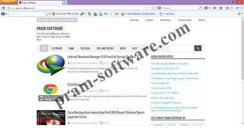 ScreenShot Mozilla Firefox Final Terbaru