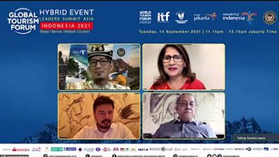 Wapres Ma'ruf Amin dan Wapres Turki Akan Buka Global Tourism Forum 2021