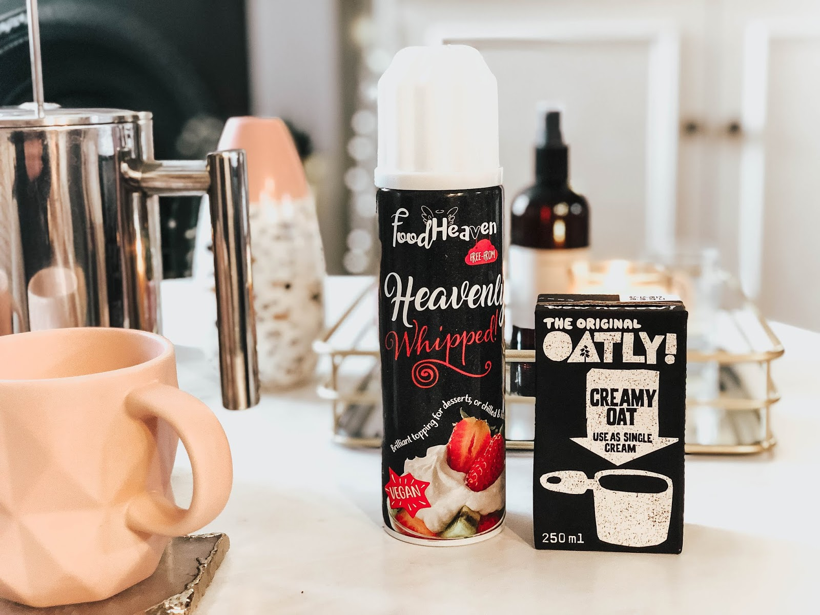 vegan oatly cream for coffee