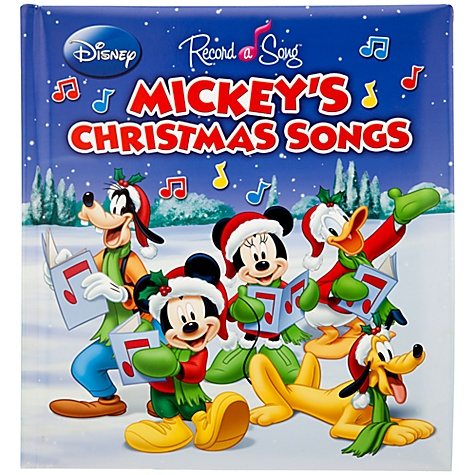 disneys record a song mickeys christmas songs is a fun story book with a twistyour childs voice this unique christmas keepsake lets adults help the - Mickey Mouse Christmas Songs