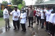 Kunjungi Lokasi Banjir, Bupati Jombang Di Protes Warga