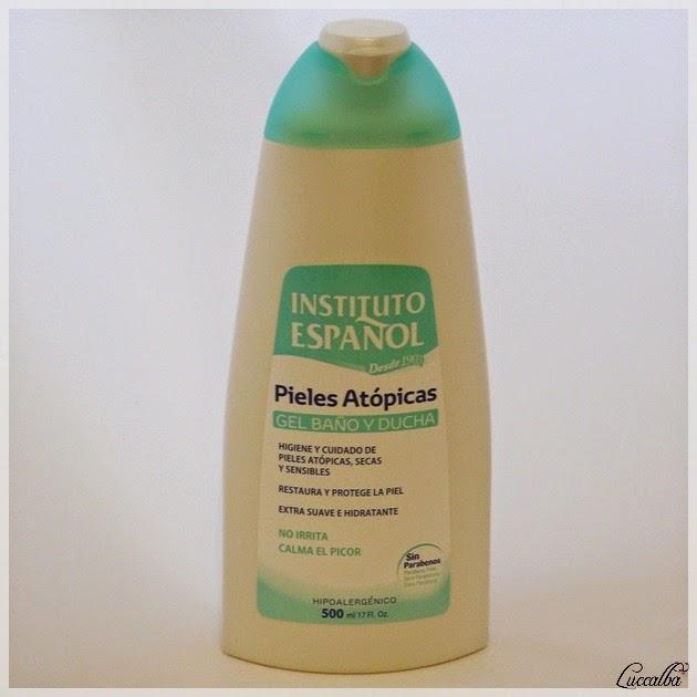 Gel para baño y ducha Pieles Atópicas de Instituto Español