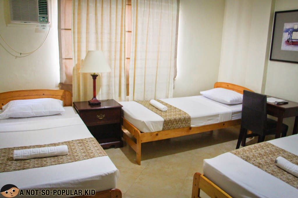 Metro Vigan Inn's Superior Triple Room