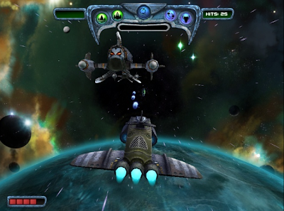 Sun Blast arcade space shooter game  for Linux