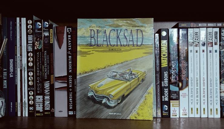 Resenha da HQ Blacksad Vol.5