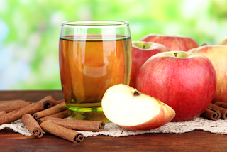 مياه الديتوكس من التفاح والقرفة