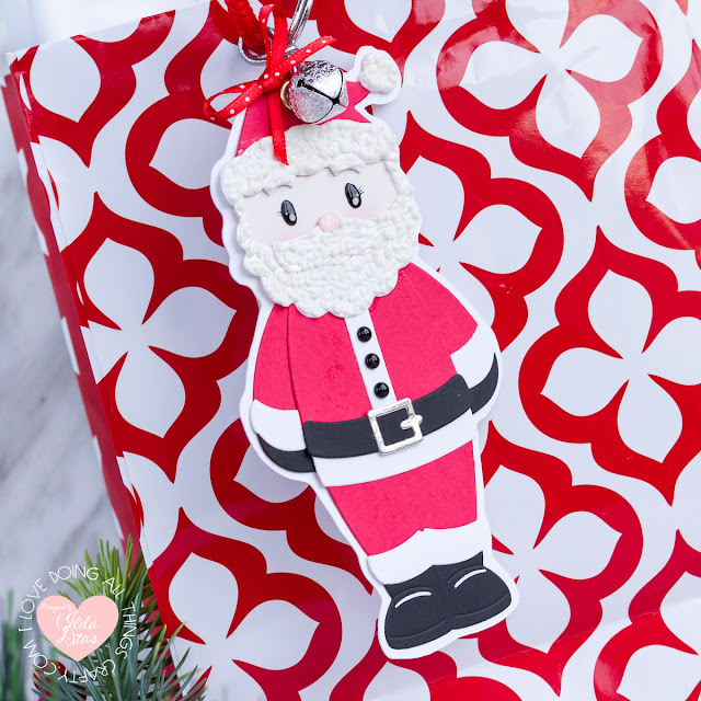 Santa's Helpers Christmas Tags   November 2019 Large Die of the Month   Spellbinders by ilovedoingallthingscrafty.com