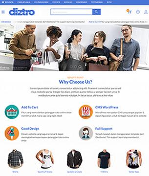 Theme Wordpress Premium Indonesia. Theme Toko Online Wordpress