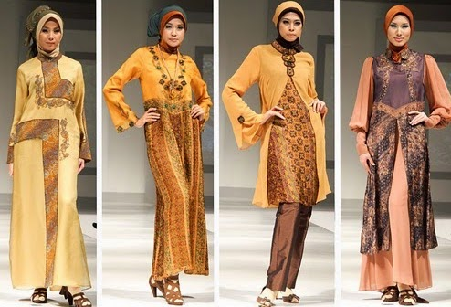 Contoh Model Baju Muslim Lebaran Terbaru
