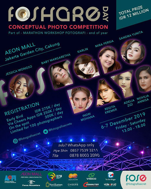 Lomba Foto Konsep Top Model Indonesia
