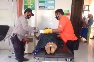 Fendi ditemukan tewas di jalan raya Lombok Tengah