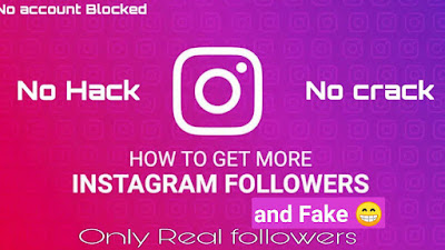 Instagram followers giveaway