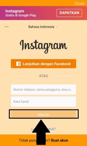Cara Menganti Tema Instagram