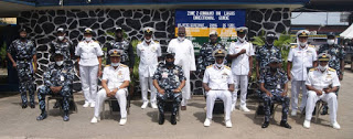 POLICE 'LL CONTINUE TO WORK IN PARTNERSHIP WITH NIGERIA NAVY TO COMBAT CRIME -SAYS AIG ILIYASU