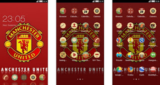 Tema Manchester United untuk Android Oppo