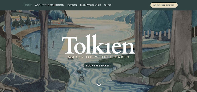 Tutto su Tolkien: The Maker of Middle-earth. Dai biglietti ai cataloghi!