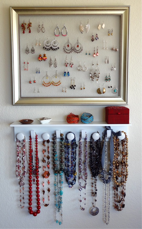 Twinkle and Twine: DIY Jewelry Organizer