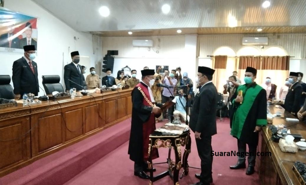 M. Budi Hoiru SH Resmi Jabat Wakil Ketua ll DPRD PALI