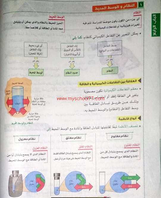 كتاب الامتحان فى الكيمياء للصف الاول الثانوى ترم ثانى 2020-  موقع مدرستى