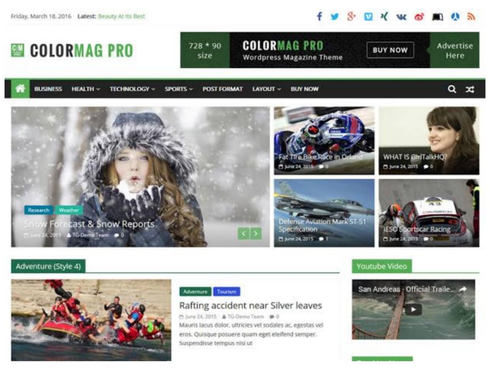 ColorMag Pro WordPress Theme