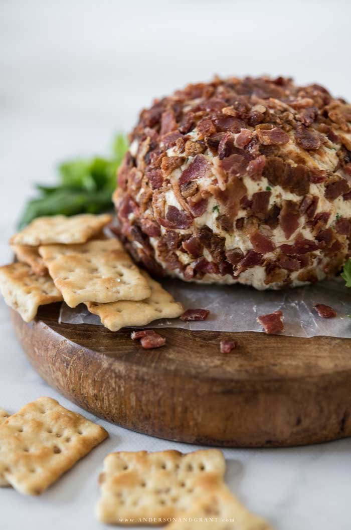 Cheddar Bacon Ranch Cheeseball
