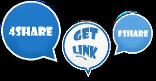 Trang Get link Fshare, 4Share, Tên lửa, Tài liệu và nhiều host miễn phí