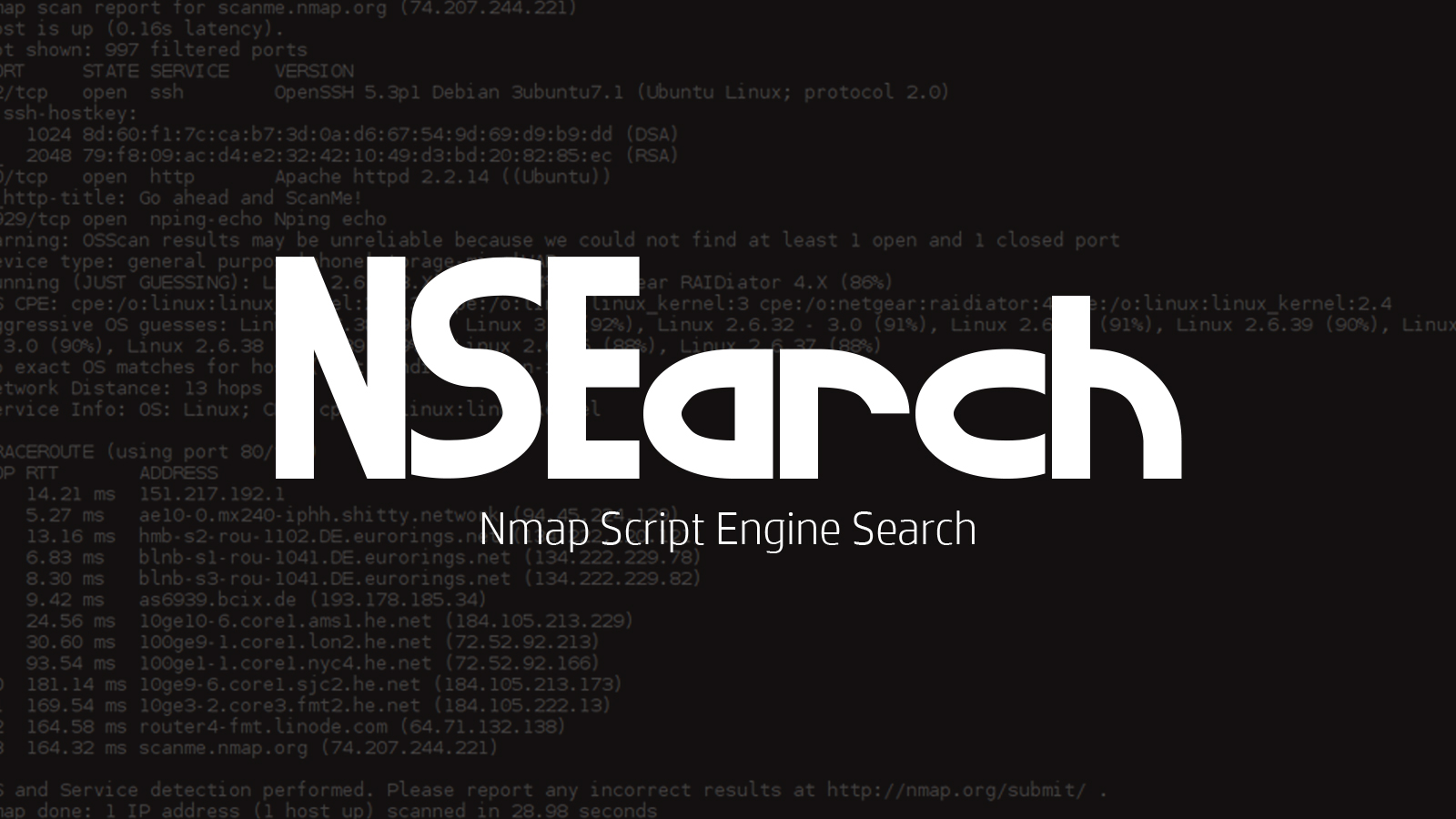NSEarch -  Nmap Script Engine Search