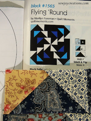 qm 100 blocks vol 16 flying round by marilyn foreman