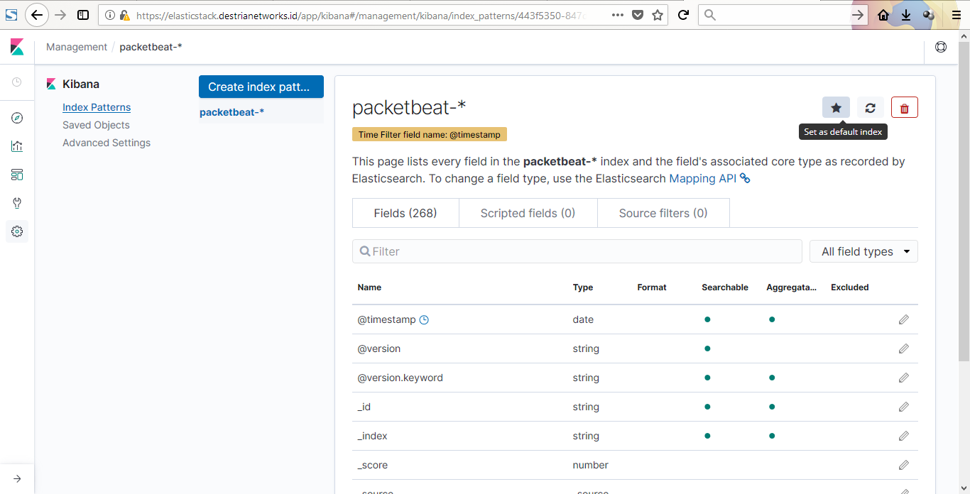 destrianto's page: Elastic Stack: Packetbeat