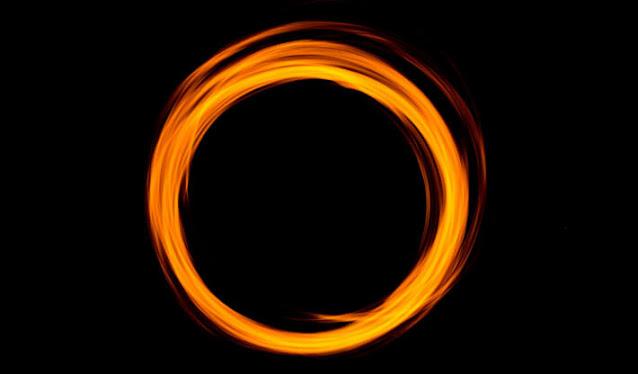 ring like Alien Objects in space