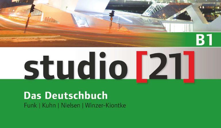 الكورس الممتاز studio21 للمستوى B1 كامل مع الصوتيات