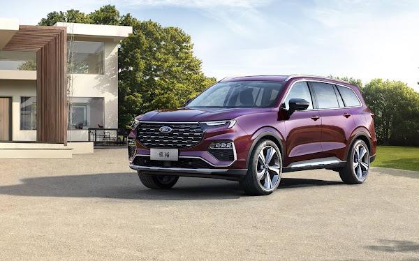 Ford lança o Equator: SUV de 7 lugares para enfrentar o Tiggo 8 - China