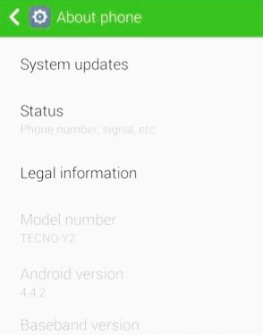 How to Root Tecno Y2 Without PC in Easy Steps